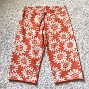 Lucky brand sunflower capris